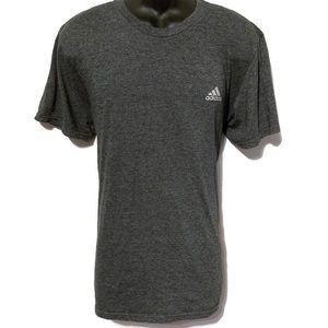 Adidas Men's Dark Gray Short Sleeve To-Go Tee